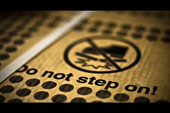 No Stepping! (michaeljosh) Tags: nikkor50mmf14d project365 nikond90 nostepping michaeljosh