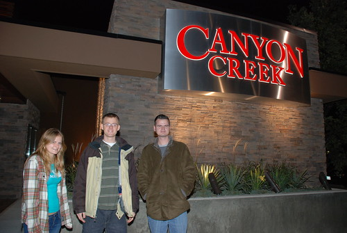 Photo review by WashuOtaku:  Dinner with family and close friends at the Canyon Creek. In photo are three of my cousins.
