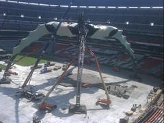 Sexto día de montaje - Estadio Azteca 40
