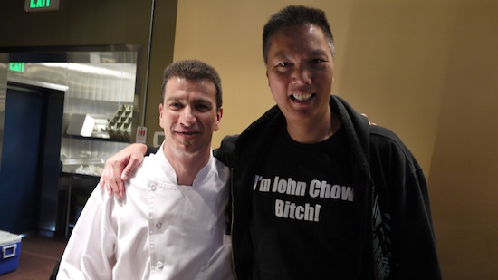 Chef Philippe Thomelin and John Chow