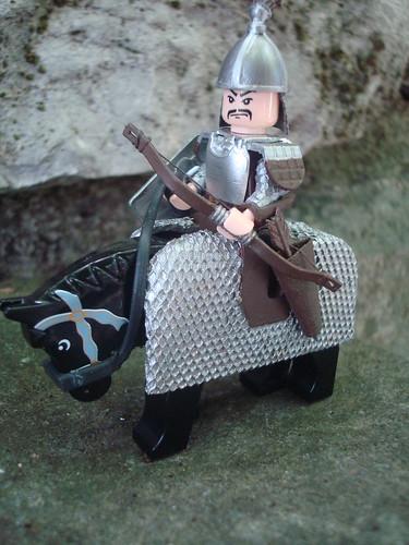 Custom minifig Gengis Khan