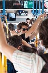 Crowded Busride (Simply Boaz) Tags: people bus israel nikon jerusalem ישראל ירושלים crowded d90 אוטובוס