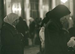 praying in Umayyad Mosque (fantyna) Tags: damascus umayyadmosque arabianwomen syriabeirutdamasqliban