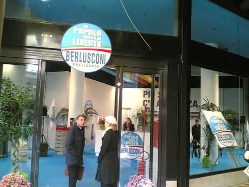 Temporary Political Store in Corso Vittorio Emanuele