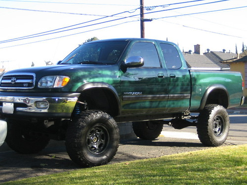 The old lifted Tundra.