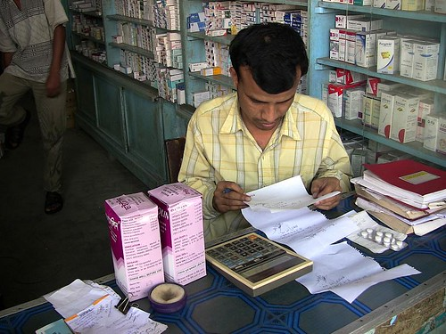 Pharmacist Looks at the Prescriptions