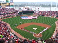 Cincinnati Reds Opening Day 2008