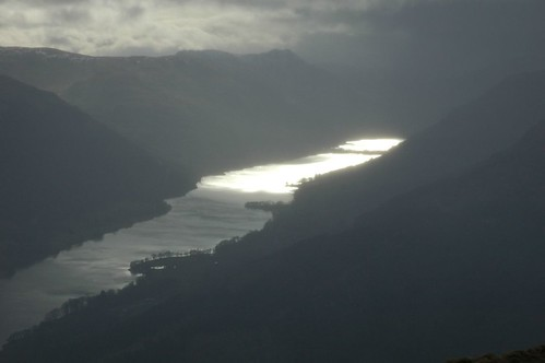 Loch Voil as the skies darkened