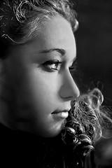 Alessandra (il goldcat) Tags: girls portrait blackandwhite cute girl portraits canon nose nice eyes italian lips alessandra ritratti biancoenero italiangirl goldcat platinumheartaward canoniani top20femmes