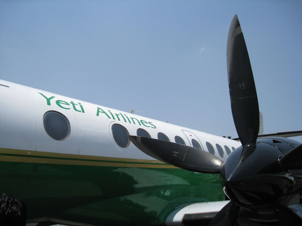Who can pass up the chance to fly Yeti Airlines? Kathmandu, Nepal