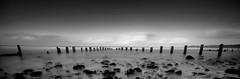 Sandsend, North Yorkshire (Corica) Tags: uk longexposure greatbritain beach landscape coast britain yorkshire tripod northsea northyorkshire groynes sandsend sigma1020mm gettingwet misting corica canon400d