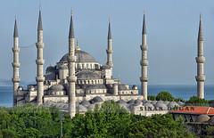 Sultanahmet Camii ( Blue Mosque ) (Sinan Doan) Tags: sultanahmet trkiye sultanahmetklliyesi bluemosque istanbulcamileri architecture cami sultanahmetcamii sultanahmetmosque estambul   isztambul istanbulphotos hdr minare istanbulfotoraflar turkey   trkei trkiy istanbul sinandoan istanbulgezilecekyerler istanbulgezi istanbulhakkndaherey istanbulugeziyorum   istanbultravel  estanbul