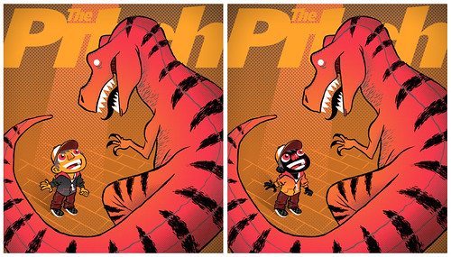 Dino Pitch Covers