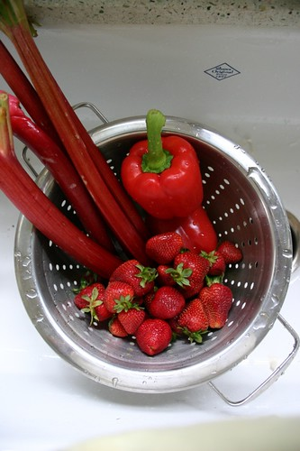cooking with all red items