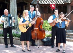 Folk Musicians at the Norway Pavilion in Epcot