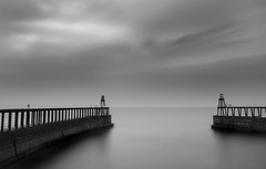 Whitby Harbour, North Yorkshire (Corica) Tags: uk longexposure greatbritain sea england coast britain yorkshire northsea whitby northyorkshire sigma1020mm whitbyharbour corica canon400d pixelda vision100