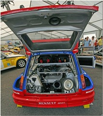 Renault 5 Maxi Turbo Rally Car. Silverstone 2008. (Antsphoto) Tags: uk classic cars car june britain 5 rally northamptonshire engine f1 racing historic renault turbo silverstone formula 2008 canoneos350d maxi motorsport autosport renault5 sigma1020mm worldseriesbyrenault sigma70300mmdgapo