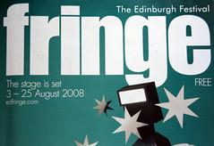 Edinburgh Festival Fringe 2008 programme cover