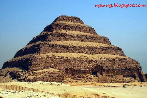 Step Pyramid, Pyramid of Djoser, Saqqara