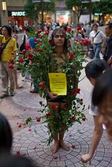 June 4th performances at Times Square, Hong Kong (immu) Tags: china travel art hongkong performance beijing timessquare tiananmen june4