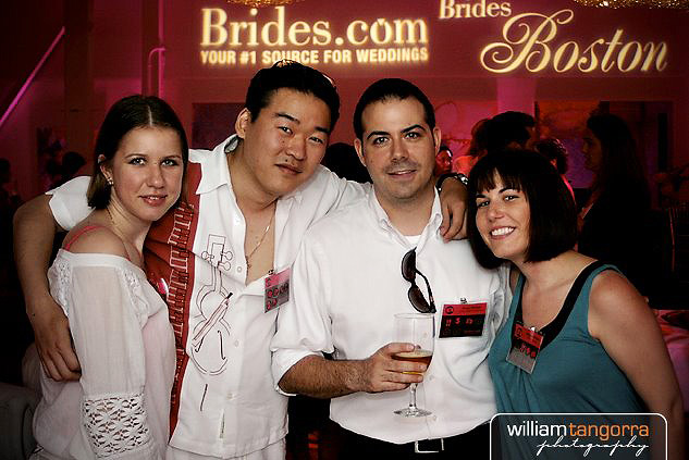 Brides Magazine Party Photo care of William Tangorra