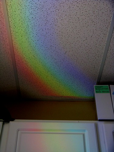 Rainbow in Office