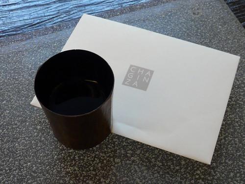 a cup of sake before grean tea -Grean tea 02-