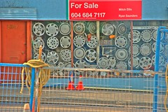 Hubcaps for Sale HDR
