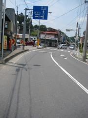 三春市街、K54 須賀川方面へ