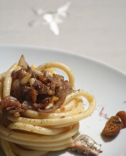 Pasta with anchovies