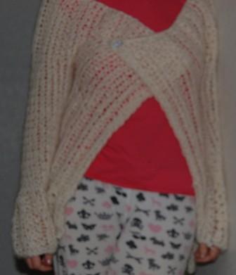 tuxedo sweater