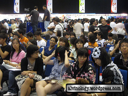 very crowded