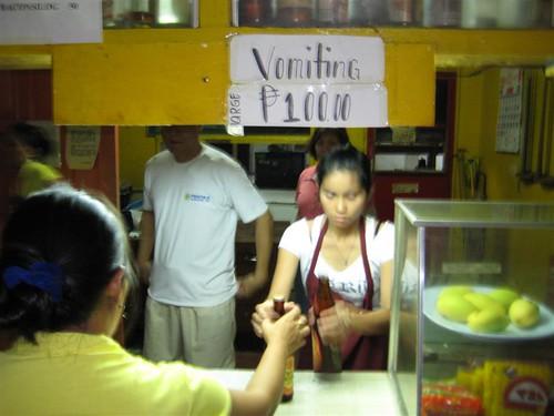 puke in philippines