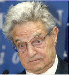George Soros Chicken face