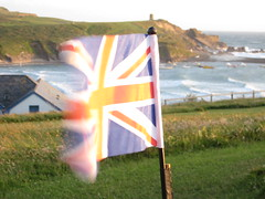 British Flag in Bude