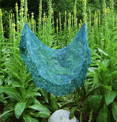 mermaid wings shawl
