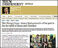 El articulo de James Brabazon en The Independent