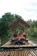Thailand: Floating down the River Kwai (eliduke) Tags: thailand kanchanaburi kwai kittiraft