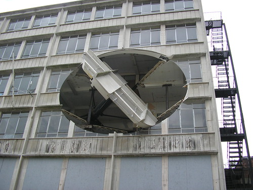 Sculpture by Richard Wilson