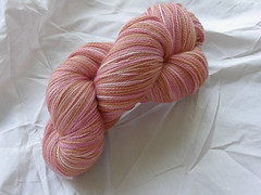 Natural dyed sock yarn