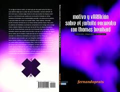 Motivo y variación sobre el fortuito encuentro con Thomas Bernhard (spread)