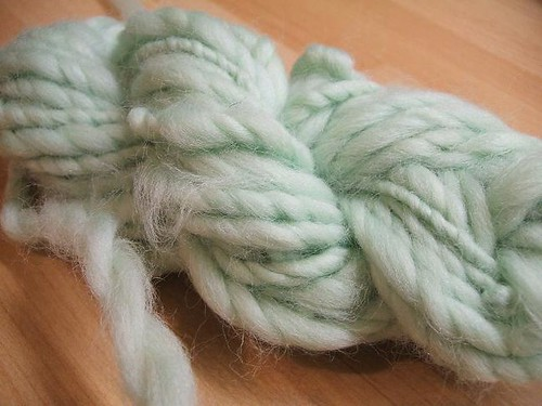 Wheel spun merino top