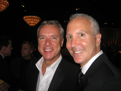 Geof Kors, right, and his partner.