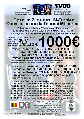 Einladung IM-Open 2008