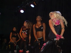 Girlicious live at Dragonfly (Fallsview) (AggieD) Tags: nicole dolls dragonfly live christina natalie tiffany pussycat nichole fallsview girlicious