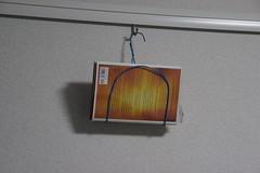 "Hanging ""Hanger"" Magazine Rack"