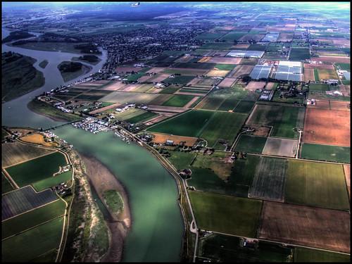 Fraser Delta Aerial