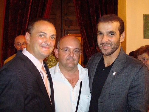 Jesus Rodriguez, Paco Martin y Luis Merlo