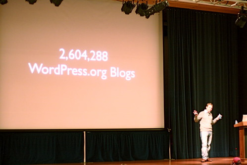 over 2.5 million self-hosted WordPress blogs