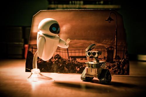 pixar up wallpaper. Pixar : Wall-e et Eve
